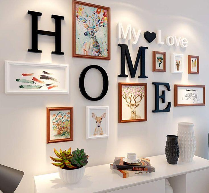 Идеи для украшения декоративными буквами