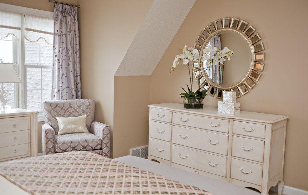 Как украсить комод в спальне
